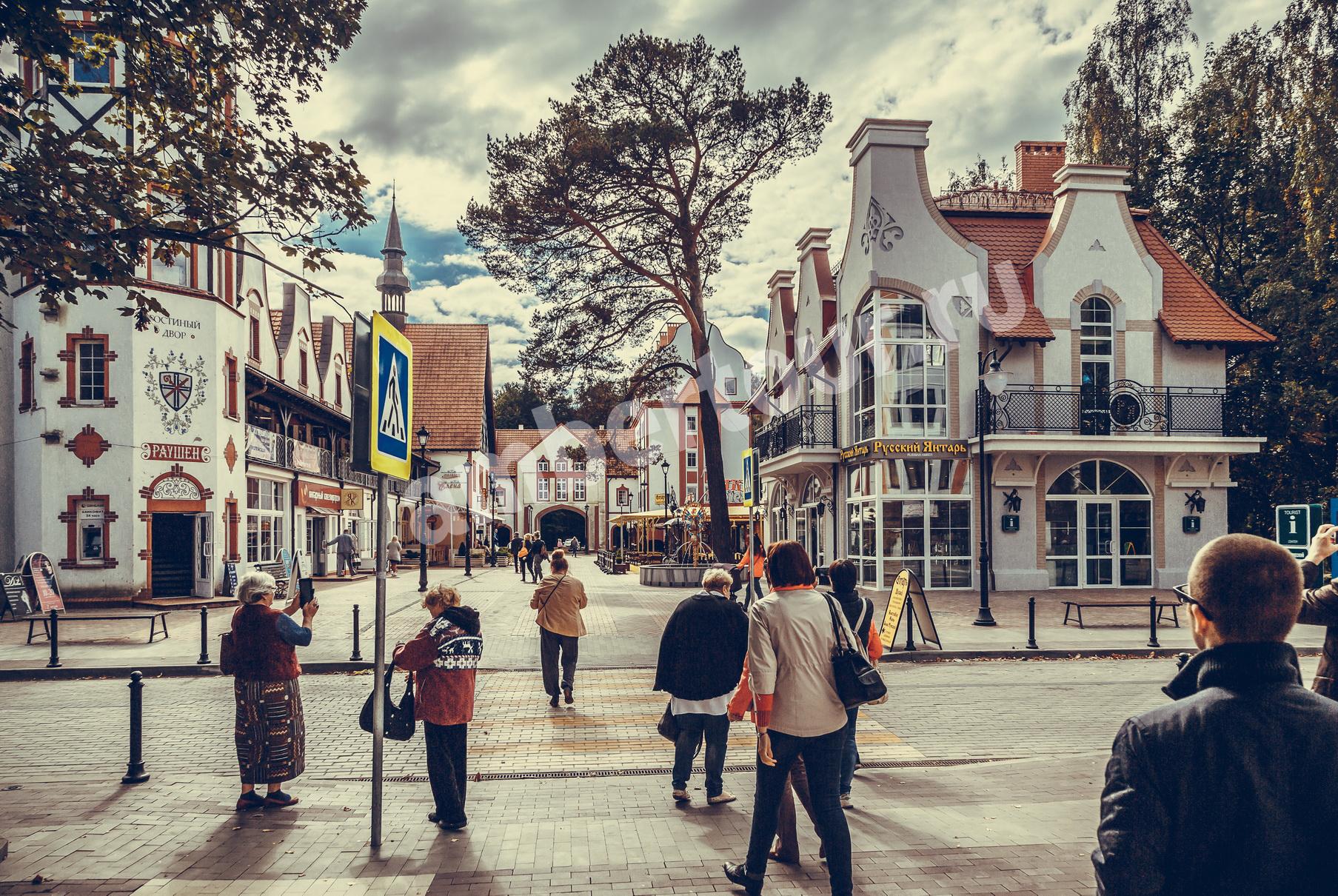 Светлогорск, площадь Раушен фото