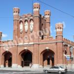 Королевские ворота Калининград фото