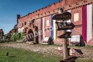 замок Шаахен Калининградской области фото