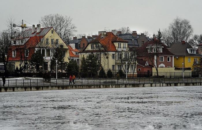 Прогулка по Калининграду зимой