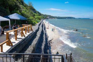 пляж в Светлогорске фото