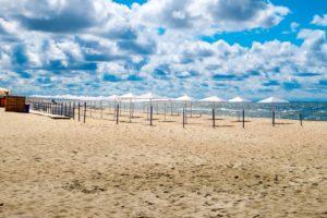 пляж Шахта Анна в Янтарном фото
