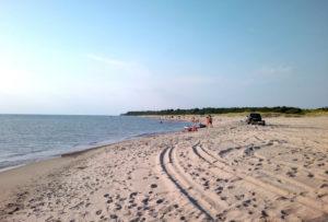 пляж в Поваровке фото