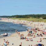 городской пляж Балтийска фото