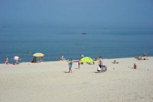 пляж в поселке Мечникова фото