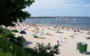 пляж в Пионерском фото