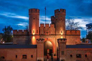 Фридрихсбургские ворота фото