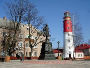балтийск маяк фото